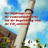 De bijdrage van de cementindustrie tot de beperking van de CO2-uitstoot